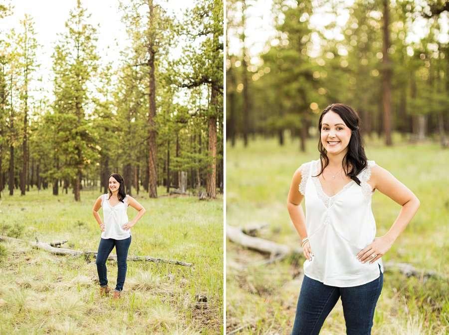 Trish and Mike: Northern Arizona Portrait Photographers female poses