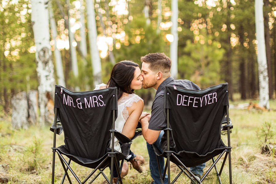 Trish and Mike: Northern Arizona Portrait Photographers best props for couples sessions