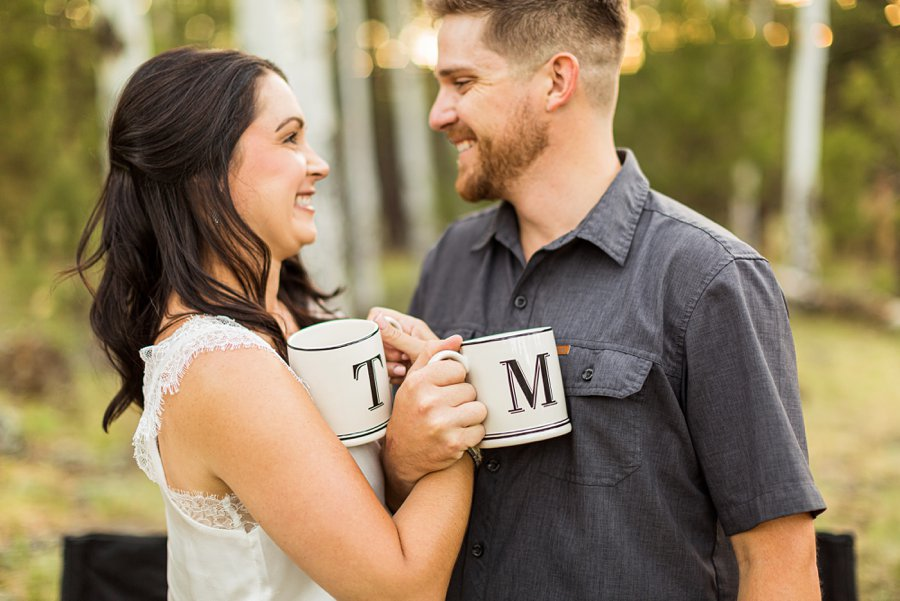 Trish and Mike: Northern Arizona Portrait Photographers unique and colorful