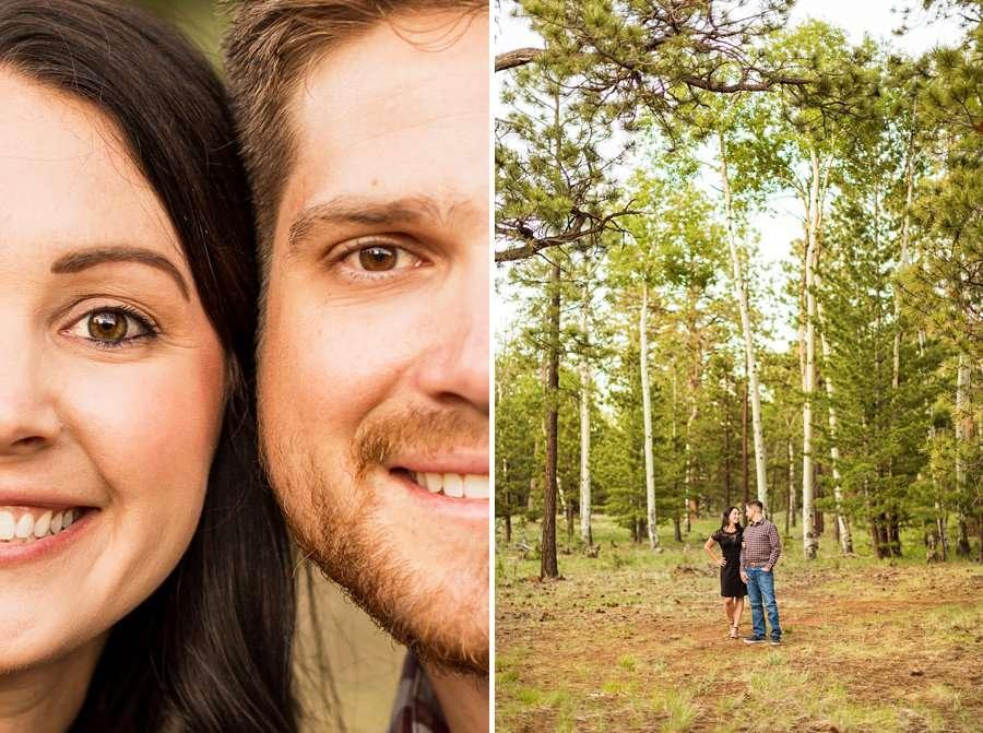 Trish and Mike: Northern Arizona Portrait Photographers creative and lifestyle poses