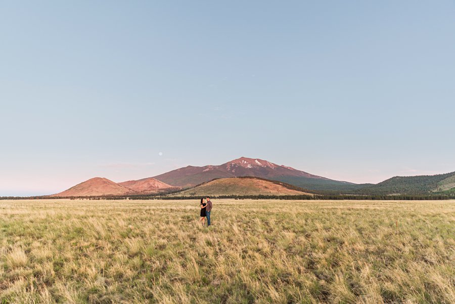 Trish and Mike: Northern Arizona Portrait Photographers AZ sunset locations