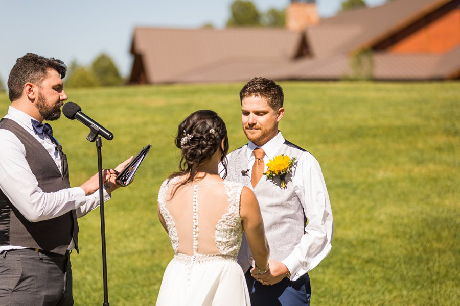 Trish and Mike: Downtown Northern Arizona Elopement grooms perspective