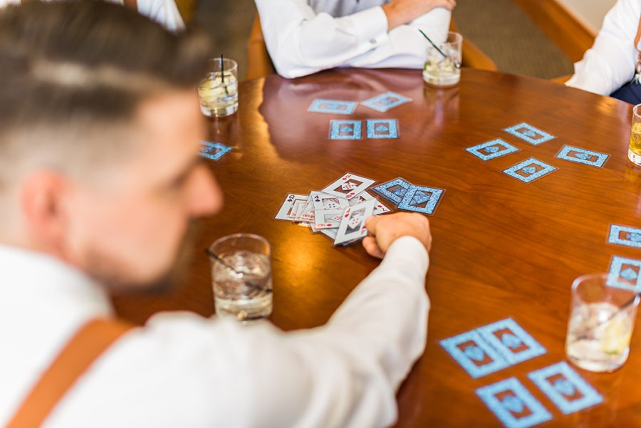 Trish and Mike: Flagstaff Ranch Weatherford Wedding playing cards