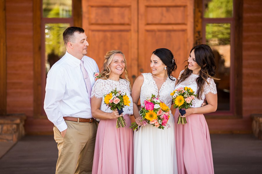 Trish and Mike: Downtown Northern Arizona Elopement man of honor