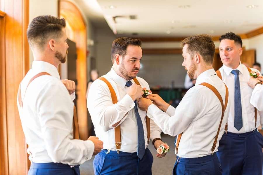 Trish and Mike: Flagstaff Ranch Weatherford Wedding groomsmen
