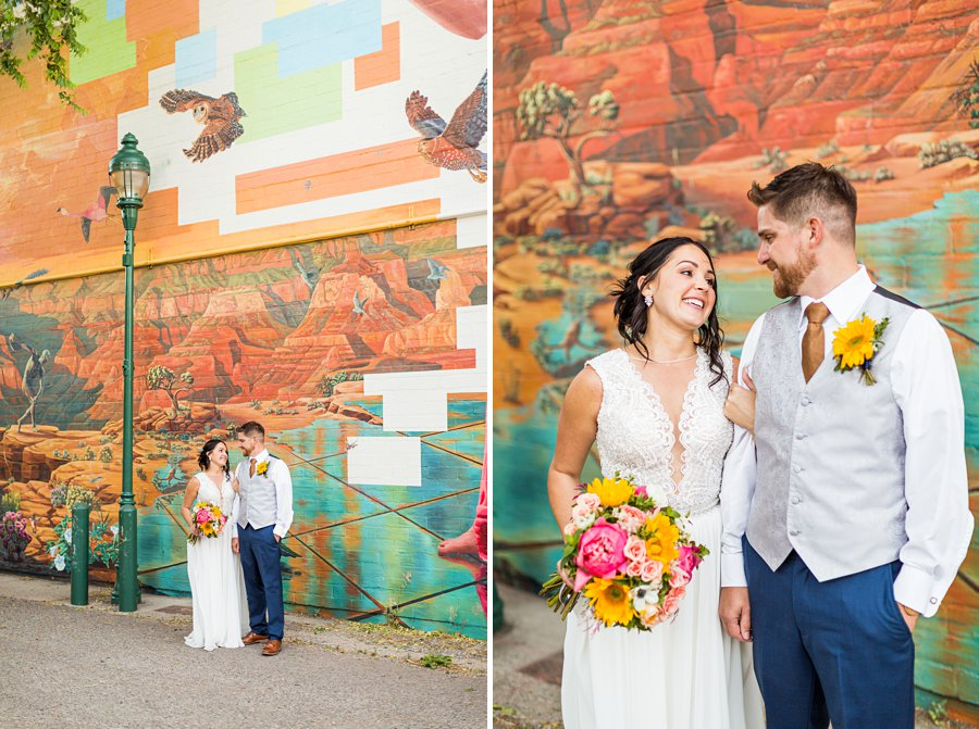 Trish and Mike: Flagstaff Ranch Weatherford Wedding colorful and creative
