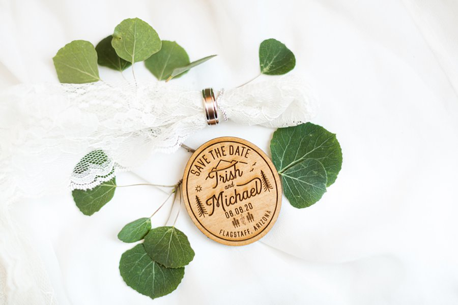 Trish and Mike: Flagstaff Ranch Weatherford Wedding wedding party favors