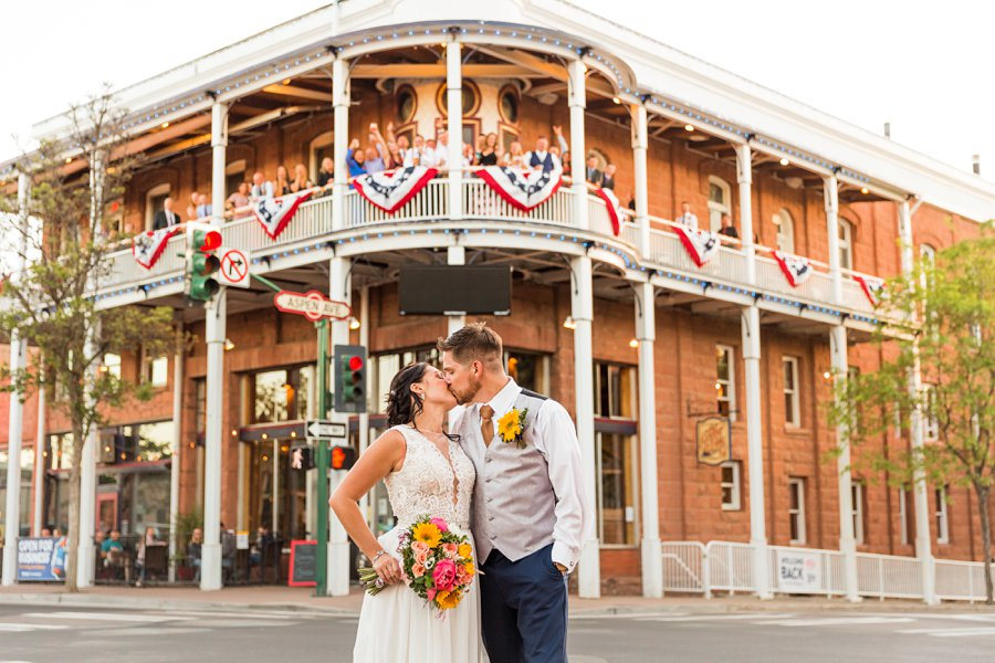 Trish and Mike: Downtown Northern Arizona Elopement downtown northern az