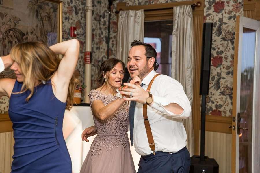 Trish and Mike: Downtown Northern Arizona Elopement dance floor