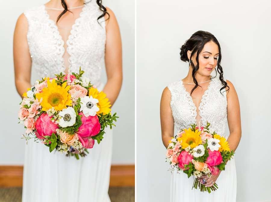 Trish and Mike: Downtown Northern Arizona Elopement beautiful bride