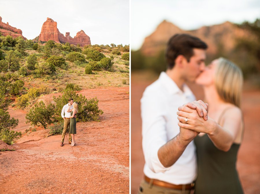 Brooke and Will: Arizona Portrait Photography engagement ring