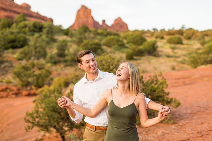 Brooke and Will: Arizona Portrait Photography best places to watch sunset