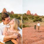Brooke and Will: Tlaquepaque Sedona Engagement Photographer