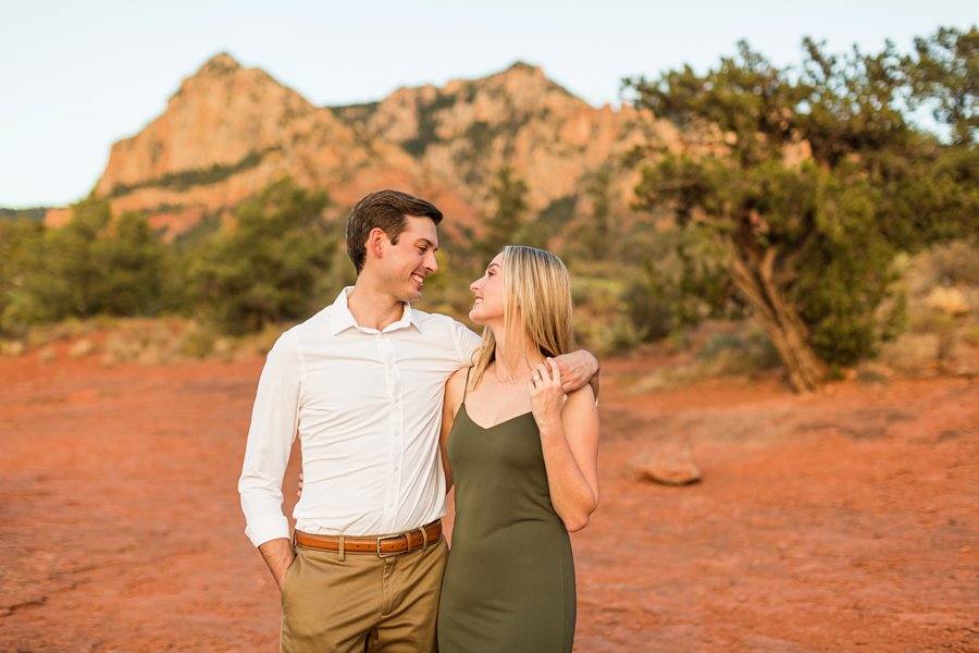Brooke and Will: Arizona Portrait Photography sweetest