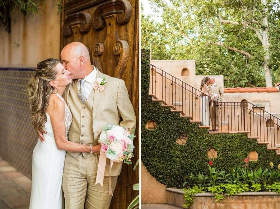 Kimberly and Mark: Sedona Tlaquepaque Wedding Photographer romatnic
