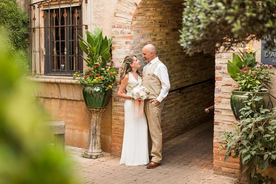 Kimberly and Mark: Sedona Tlaquepaque Wedding Photographer
