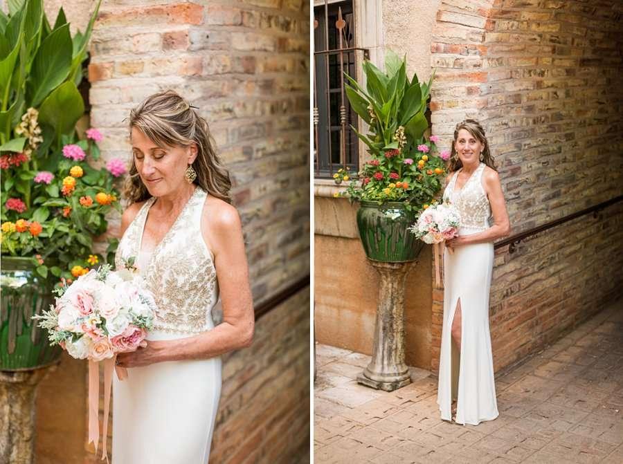 Kimberly and Mark: Sedona Tlaquepaque Wedding Photographer bride