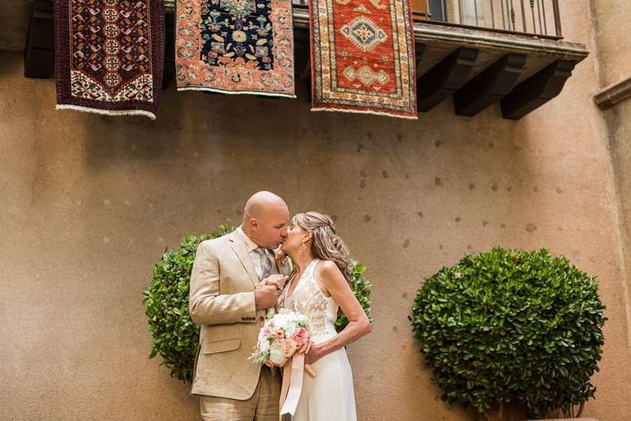 Kimberly and Mark: Arizona Elopement Photography tlaquepaque