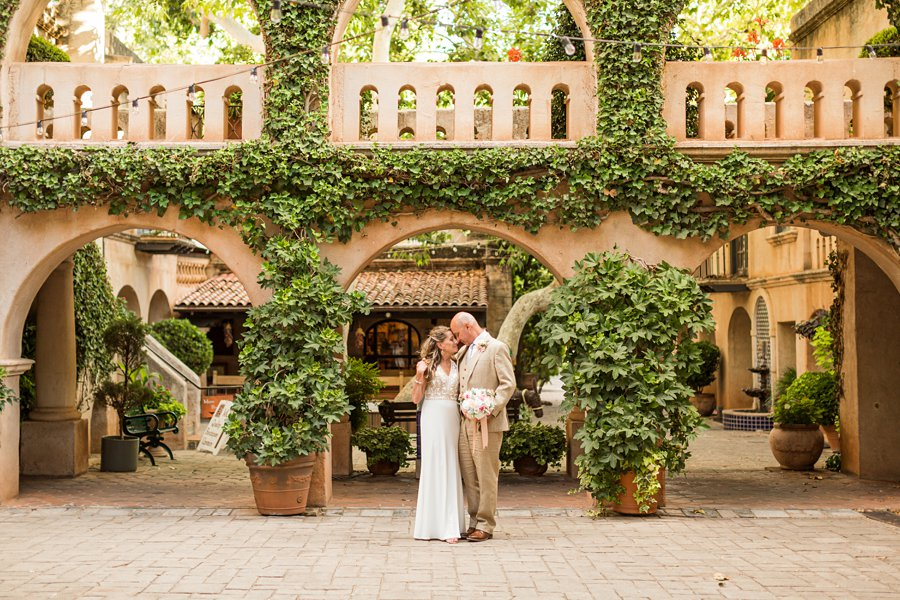 Kimberly and Mark: Arizona Elopement Photography intimate venue