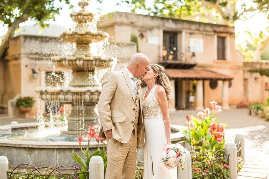Kimberly and Mark: Sedona Tlaquepaque Wedding Photographer elopement sedona arizona