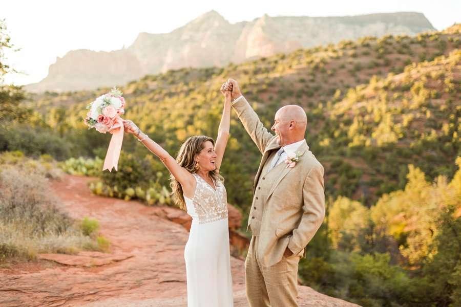 Kimberly and Mark: Arizona Elopement Photography elopement celebration