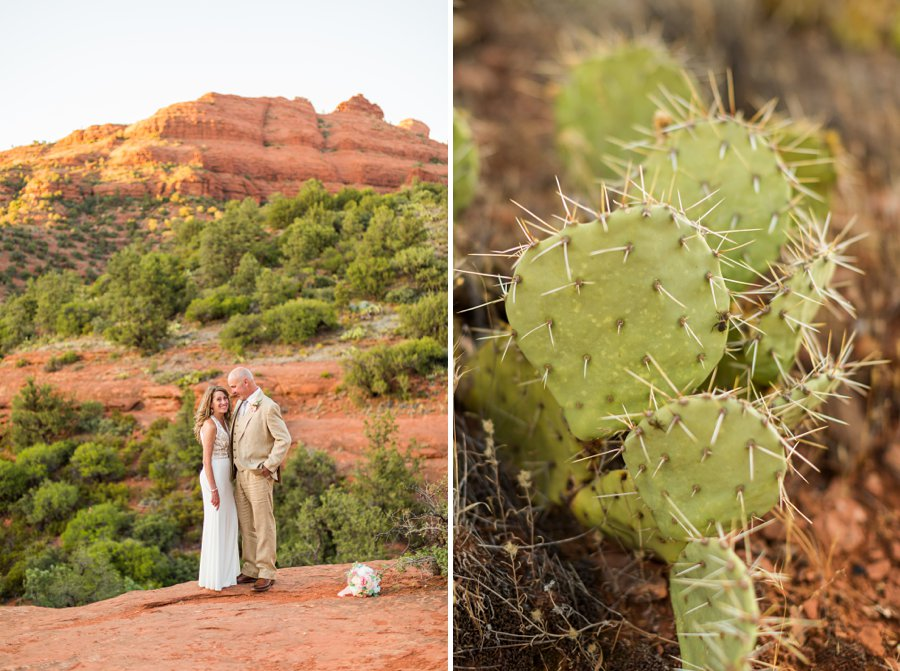Kimberly and Mark: Arizona Elopement Photography details of the elopement