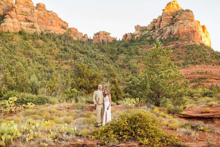 Kimberly and Mark: Arizona Elopement Photography destination elopements in arizona
