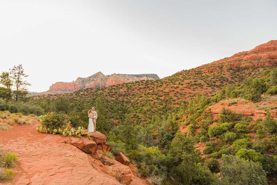 Kimberly and Mark: Arizona Elopement Photography sedona best places to watch sunset