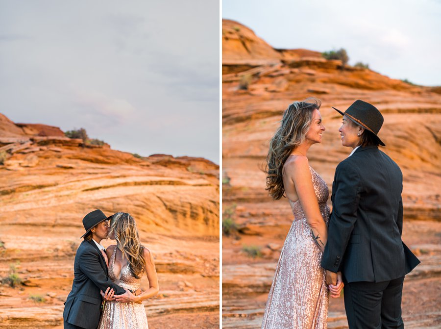 Leah and Rosey: Page Arizona Portrait Photography destination sessions