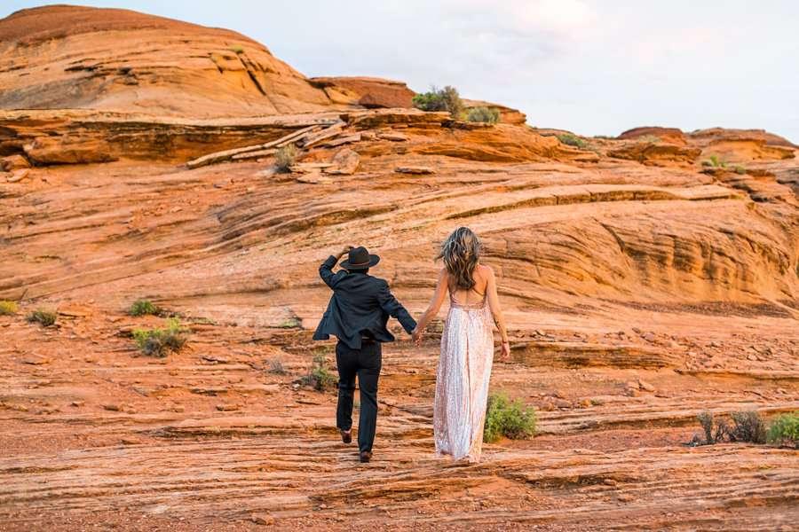 Leah and Rosey: Page Arizona Portrait Photography adventure waits