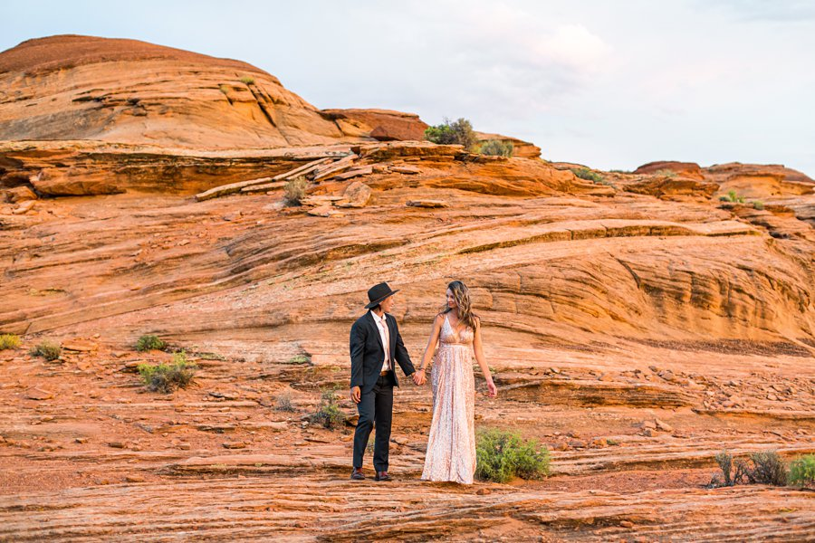 Leah and Rosey: Page Arizona Portrait Photography desert