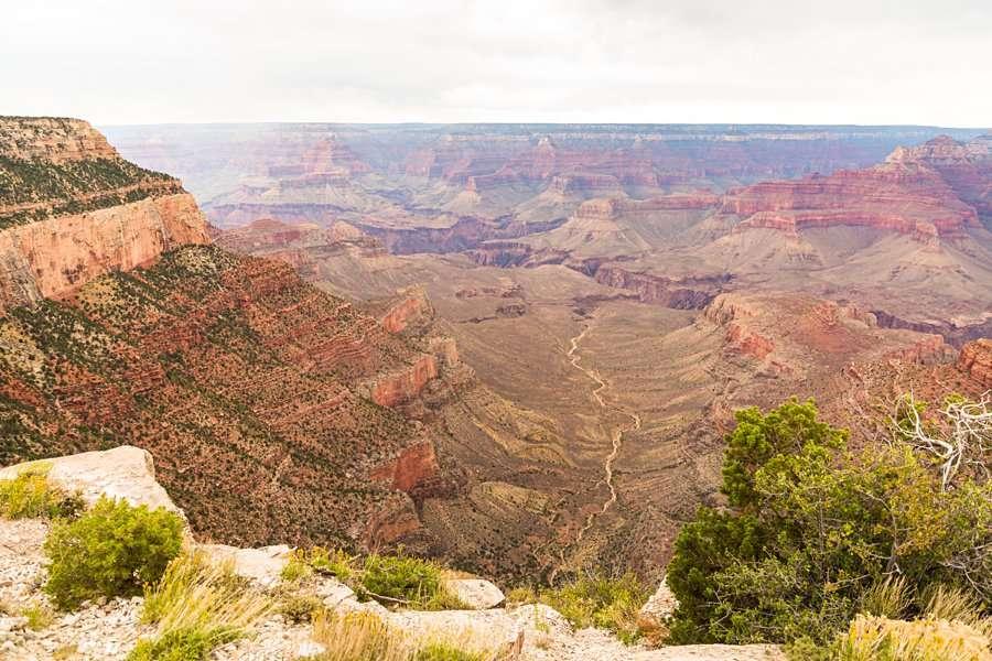 Olivia and Reagan: Northern Arizona Engagement Photographers landscape colorful