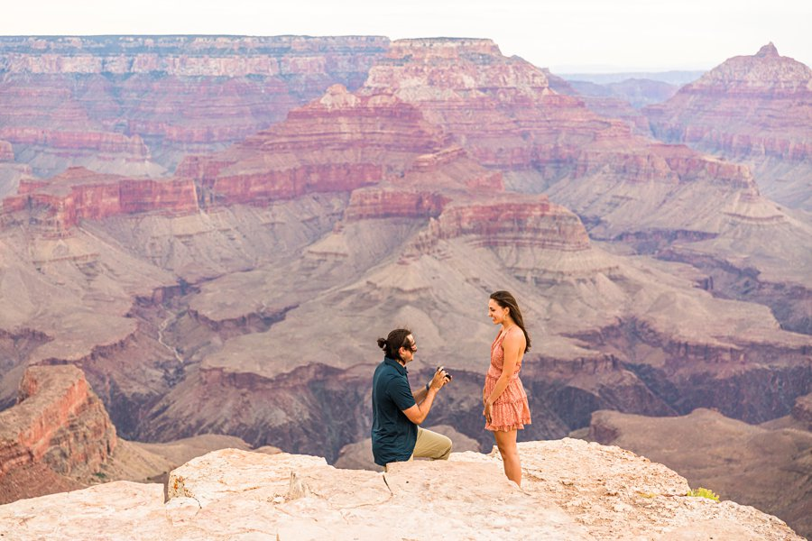 Olivia and Reagan: Grand Canyon National Park Proposal the moment