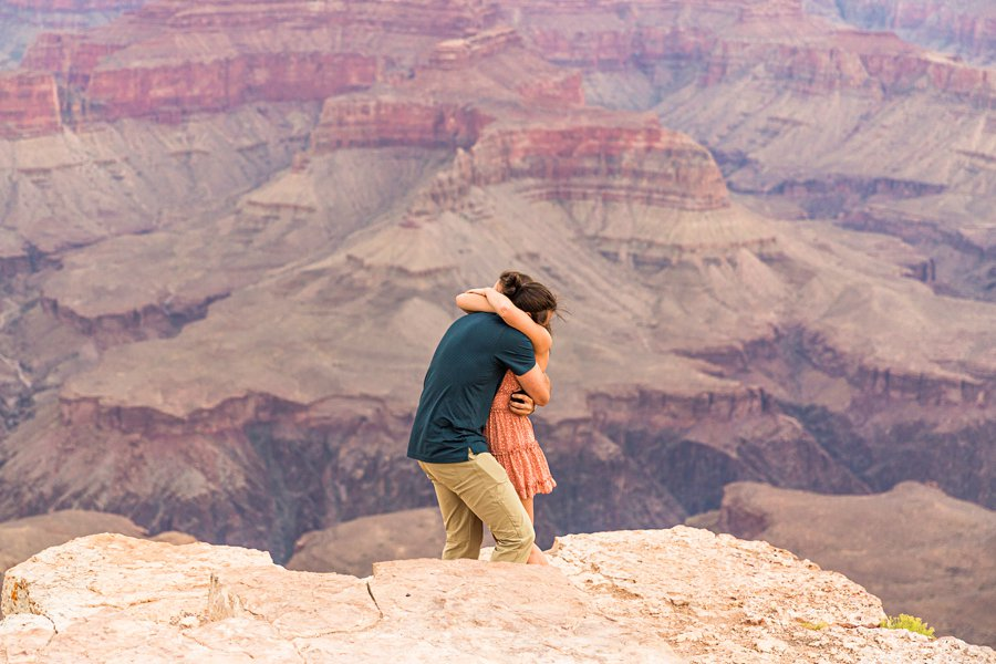Olivia and Reagan: Grand Canyon National Park Proposal how to plan your perfect proposal
