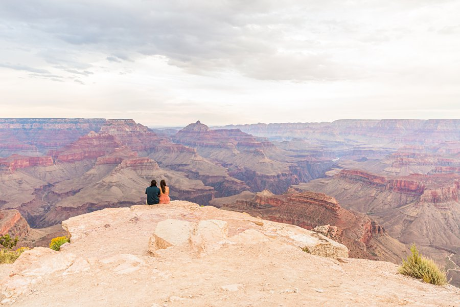 Olivia and Reagan: Grand Canyon National Park Proposal landscapes