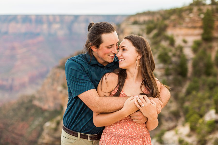 Olivia and Reagan: Grand Canyon National Park Proposal GCNP photographers
