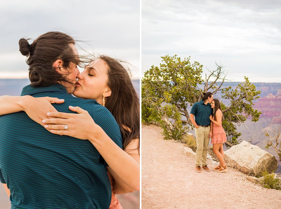 Olivia and Reagan: Northern Arizona Engagement Photographers engagement ring