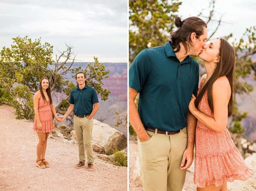 Olivia and Reagan: Northern Arizona Engagement Photographers snuggles