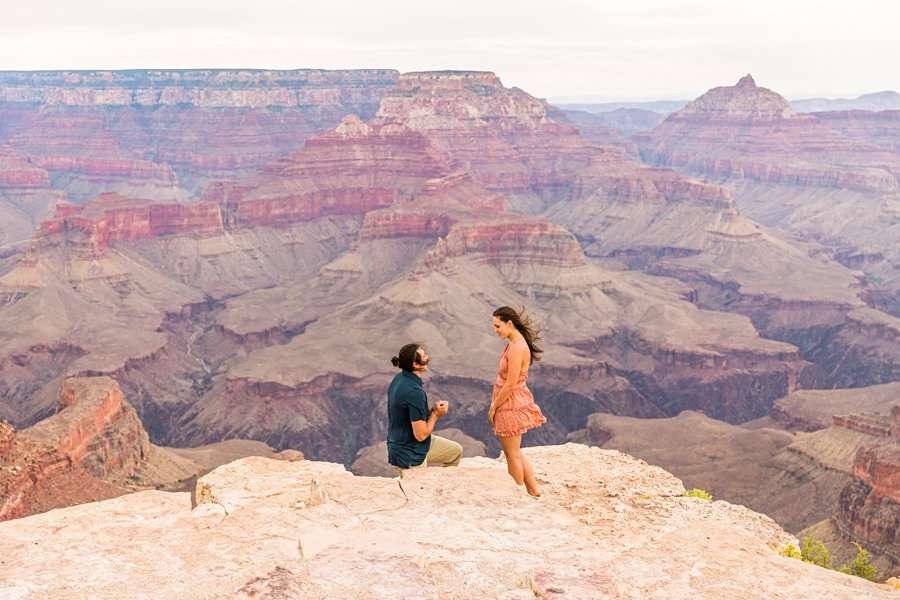 Olivia and Reagan: Grand Canyon National Park Proposal top rated