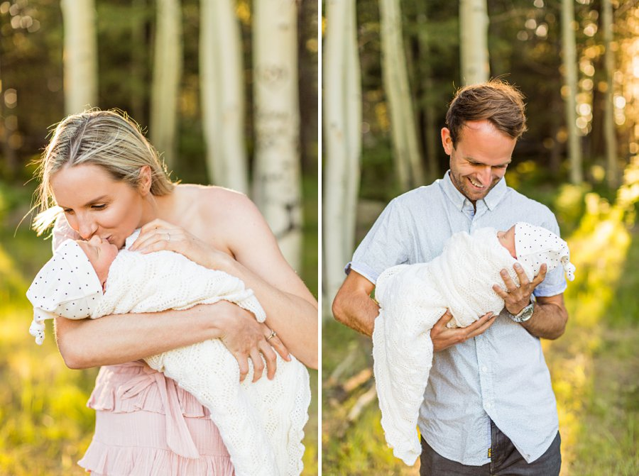 Roughan Family: Newborn Photographers Northern Arizona mother and father