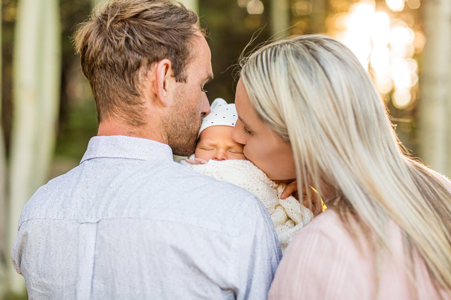 Roughan Family: Newborn Photographers Northern Arizona infant