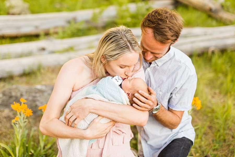 Roughan Family: Newborn Photographers Northern Arizona best infant poses
