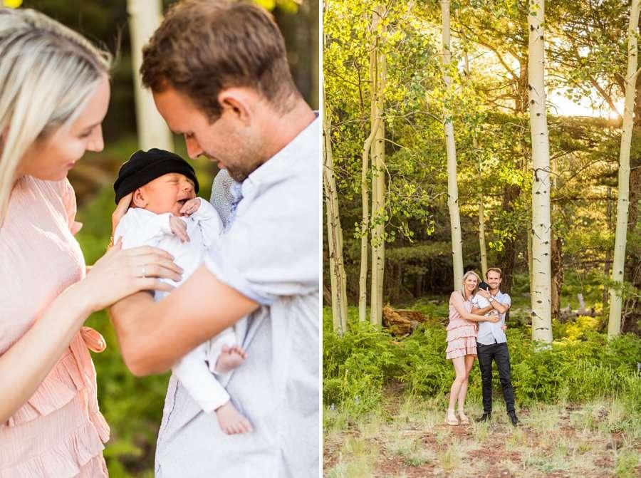 Roughan Family: Newborn Photographers Northern Arizona best newborn poses