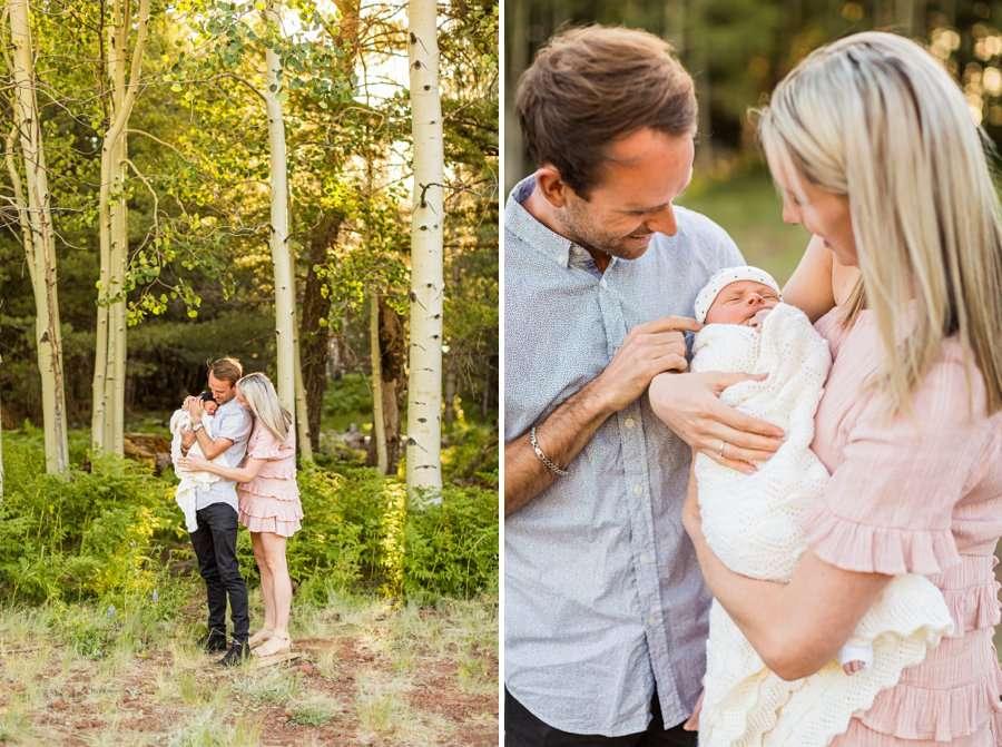Roughan Family: Newborn Photographers Northern Arizona families