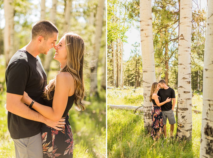 Taylor and Tommy: Grand Canyon Engagement Photographers couple in love with laughter