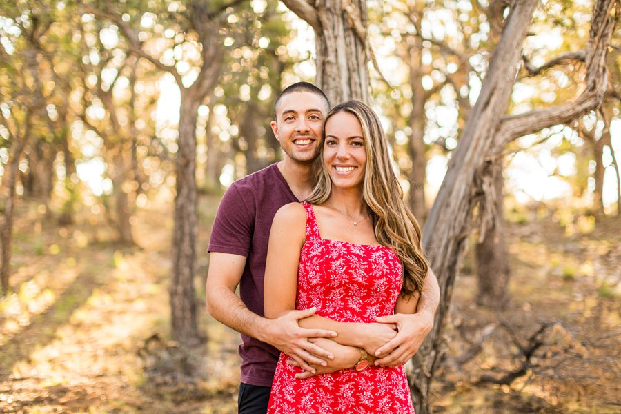 Taylor and Tommy: Northern Arizona National Park Portrait Photography destination engagement