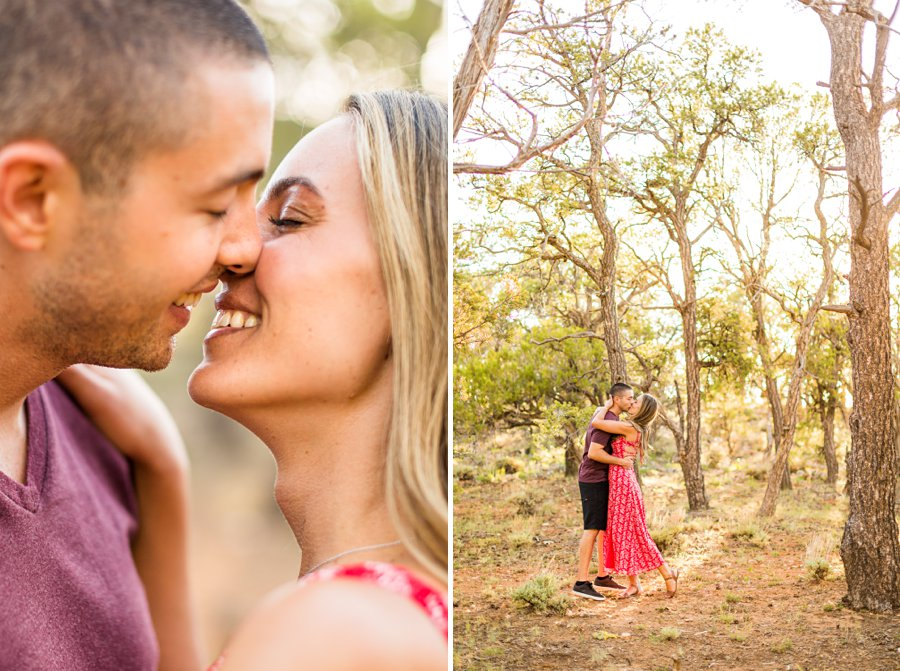 Taylor and Tommy: Northern Arizona National Park Portrait Photography intimate details