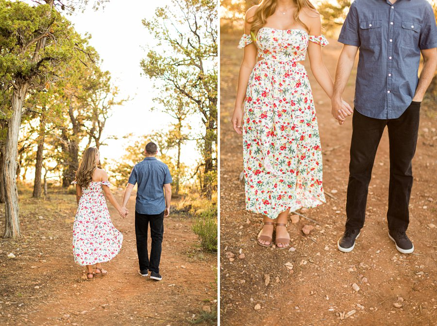Taylor and Tommy: Northern Arizona National Park Portrait Photography details at the session