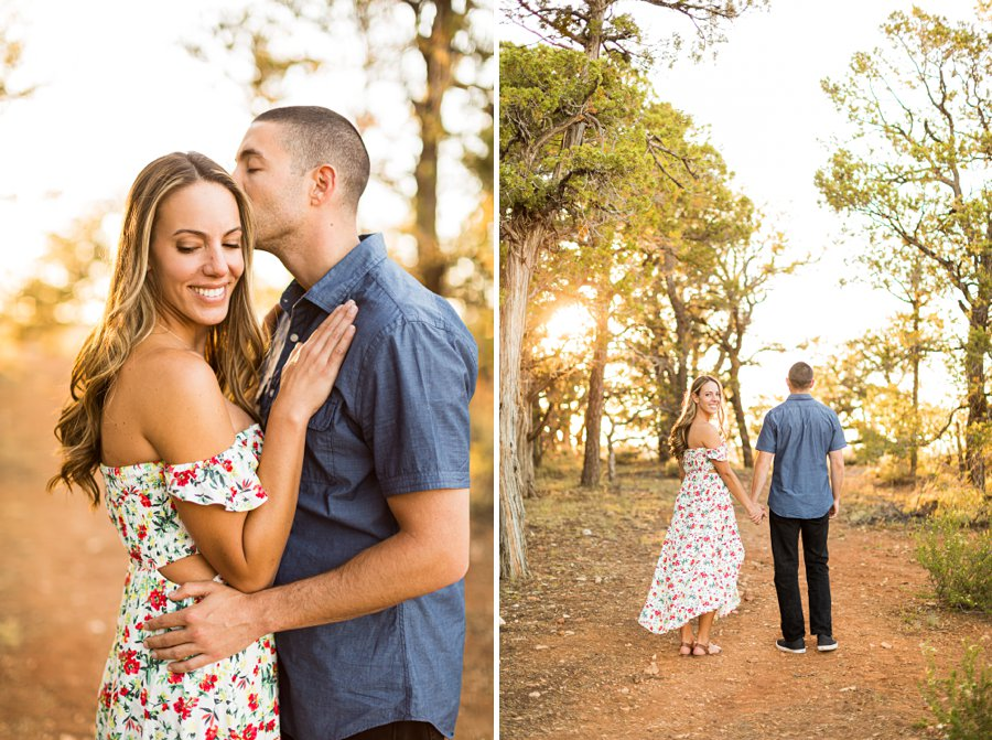 Taylor and Tommy: Northern Arizona National Park Portrait Photography sunset locations grand canyon national park