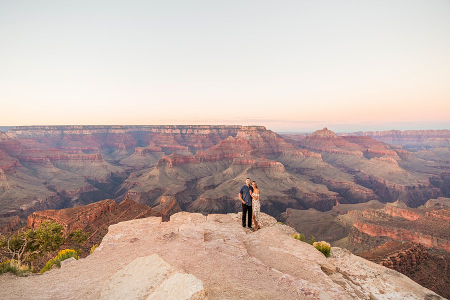 Taylor and Tommy: Northern Arizona National Park Portrait Photography best locations for sunset grand canyon